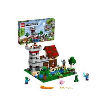 Lego Minecraft A Caixa De Criação The Crafting Box 3.0 21161