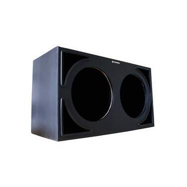 Caixa Premier Audio Dutada Pancadão Triangular para 2 Alto-Falantes de 12