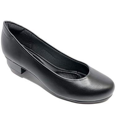 Sapato Modare Ultra Conforto Napa Salto Baixo - Preto - 39