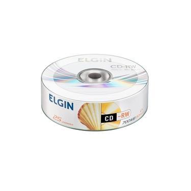 Elgin Midia CD-R 700MB / 80 MIN / 52X BULK 25