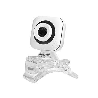 Andoer Portable HD Webcam 480P 0.3MP 30fps Câmera com Clear Mount Clip Microfone embutido Notebook PC Notebook Computador Desktop Câmera de vídeo da Web USB Plug & Play para conferências on-line Reun
