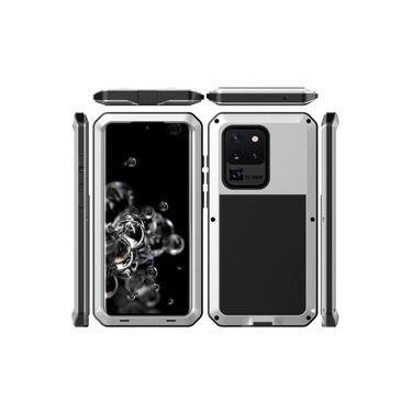 Capa Blindada Doom Armor Samsung Galaxy Note 20 Ultra – Prata