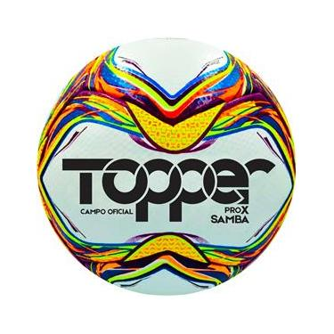 Bola de Futebol de Campo Topper Samba Velocity ProX Campo Oficial – Colorida