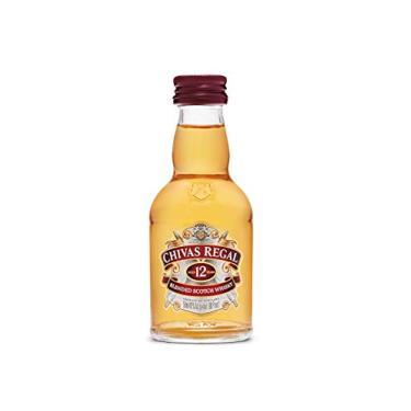 Miniatura De Whisky Chivas Regal 12 Anos 50ml