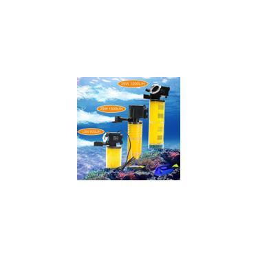 800L / H 1200L / H 1500L / H Bomba de água do aquário Tanque de peixes Filtro interno submerso Filtro de lagoa Suprimentos eua Plug