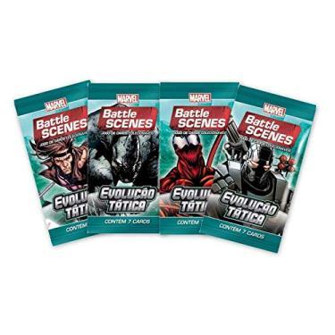 Imagem de Pack de cartas Marvel Battle Scenes Evolução Tática em português