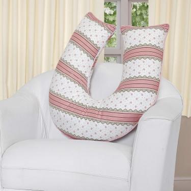 Almofada Amamentação Izzy Isadora Design Rose