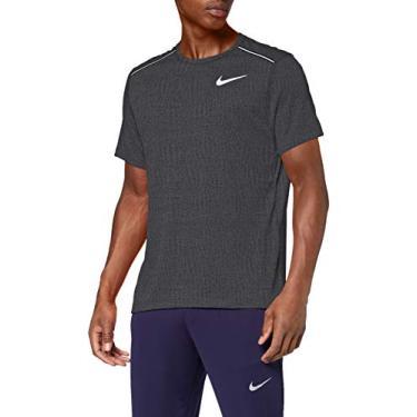 Camiseta Nike Dri-fit Miler Grafite
