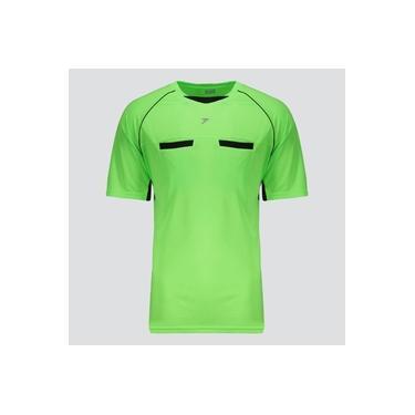 Camisa Poker Árbitro VI Verde e Preta