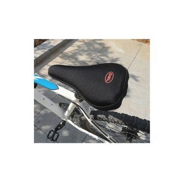 Capa para selim em GEL 3D para bicicleta banco de bike spinning ergometrica