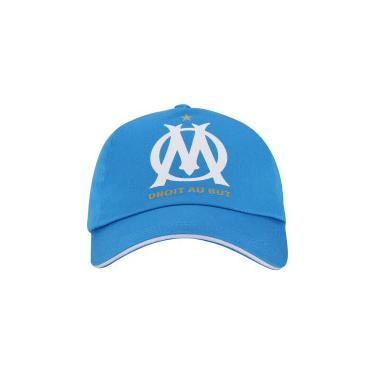 Boné Aba Curva Olympique de Marseille Treino 18 19 Puma - Snapback - Adulto  - 88389cac738