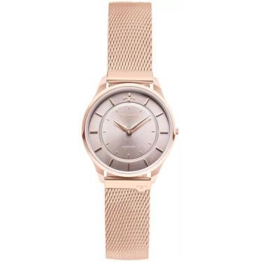 2cca2418fcf Relógio Feminino Technos Slim Analógico 9T22AL 4C - Rosê