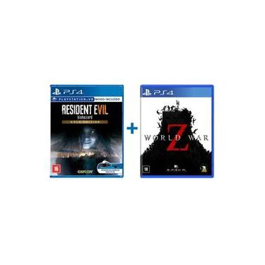 Combo Resident Evil 7 Gold Edition + World War Z - PS4