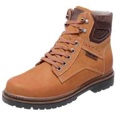 Bota Mega Boots 6019 Amarelo  masculino