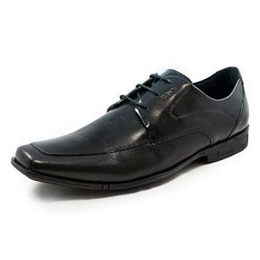 Sapato Bristol Masculino Ferracini, Natur Preto,39