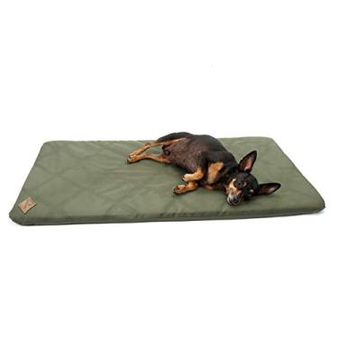 Cama Colchonete para Cachorro Pet Resistente Extra Grande - EGG - Verde - Bichinho Chic