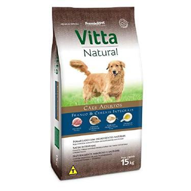 Ração Premier Vitta Natural Cães Adultos Frango - 15 Kg Premier Pet para Todas Todos os tamanhos de raça Adulto - Sabor Frango