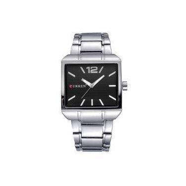 Relógio de Pulso Masculino Curren Shoptime   Joalheria   Comparar ... 14c970bf4d