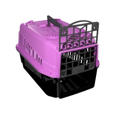 Caixa De Transporte N.1 Cão Cachorro Gato Pequena Rosa