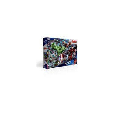 Imagem de Quebra Cabeça Panorâmico 2000 Peças Avengers Marvel