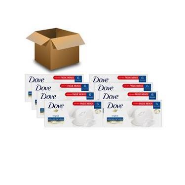 Sabonete em Barra Dove Original Leve mais e Pague Menos 90g – 48 Unidades