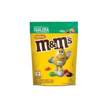Confeitos De Chocolate M&m Amendoim 148gr