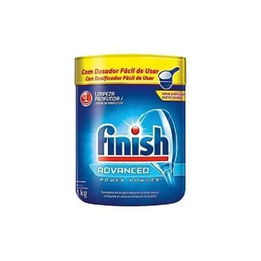 Detergente Para Máquina Lavar Louças Finish Power Powder 1kg