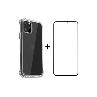 Capa Case Anti Impacto + Película 3D iPhone 7,8 / 7,8 Plus / X,XS / XS MAX / XR / 11 / 11 Pro / 11 Pro Max