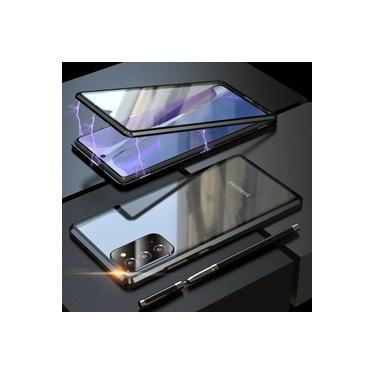 Capa Crystal Magnética Samsung Galaxy M51 – Preto