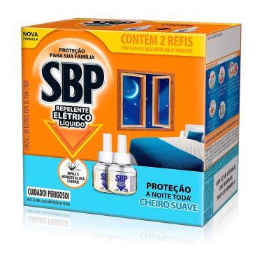 Imagem de Refil para Repelente de Tomada SBP Cheiro Suave com 2 Unidades de 35ml 2 Unidades