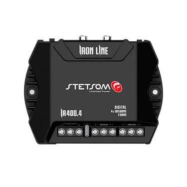 Módulo Amplificador Stetsom Iron Line IR 400.4 400W RMS 4 Canais 2 Ohms