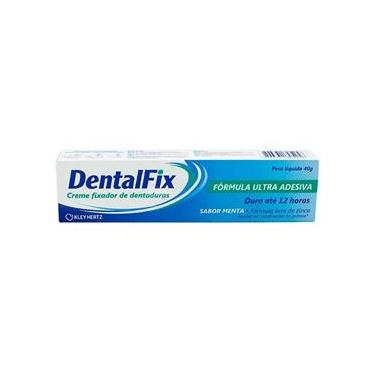DentalFix Creme Fixador Para Dentaduras Sabor Menta 40g