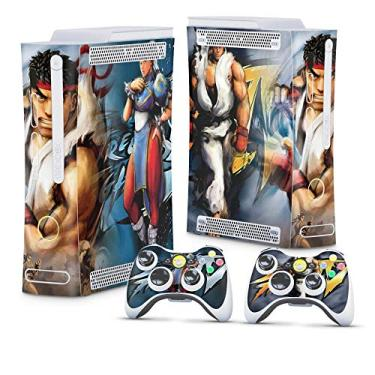Skin Adesivo para Xbox 360 Fat Arcade - Street Fighter 4#B