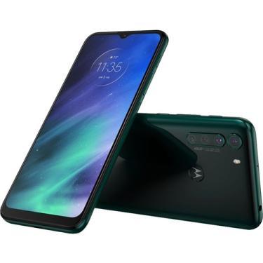 Celular Motorola Moto One Fusion Verde 128gb Tela 6.5 Em Hd+