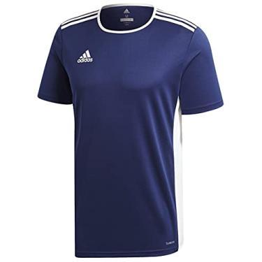 Imagem de Camisa Adidas Entrada 18 Marinho Masculina P
