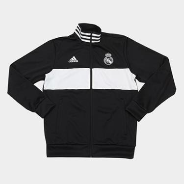 Jaqueta Real Madrid Adidas Masculina - Masculino fc14c20da4f49