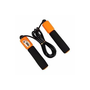 Corda de Pular Ajustável com Contador de Giros Material Resistente