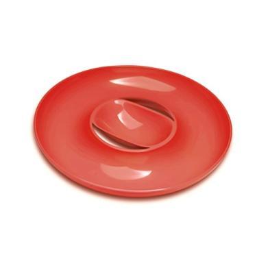 Imagem de Petisqueira Circular Vermelha