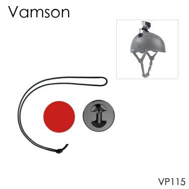 Imagem de Acessório de alça vamson para câmeras, adesivo à prova d'água para gopro hero4 3 xiaomi yi vp115