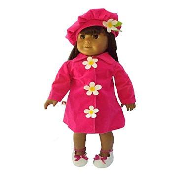 Imagem de Roupa para Boneca - Kit Conjunto Sobretudo - Veste Bonecas tipo American Girl e Our Generation - Cantinho da Boneca