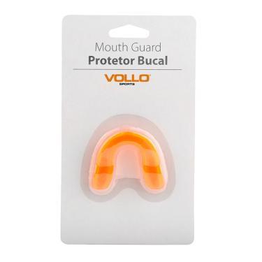 Protetor Bucal Vollo sem Estojo VM501 - Laranja