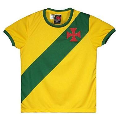 Camisas de Times de Futebol Casuais Vasco da Gama Infantil  178e2d5225c84