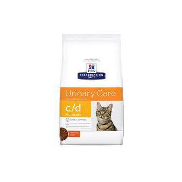 Ração Hill's Prescription Diet C/D Multicare Para Gatos Adultos Com Doenças Urinárias - 1,8kg
