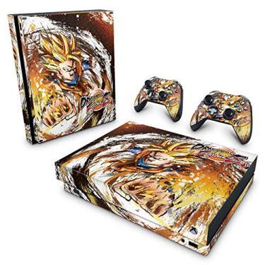 Skin Adesivo para Xbox One X - Dragon Ball Fighterz