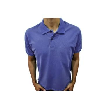 Camisa Polo Ogochi Básica Slim Violeta 0074470010068