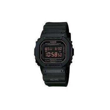 5c5d8cb83e5 Relógio Masculino Casio G-shock DW-5600MS-1DR Preto