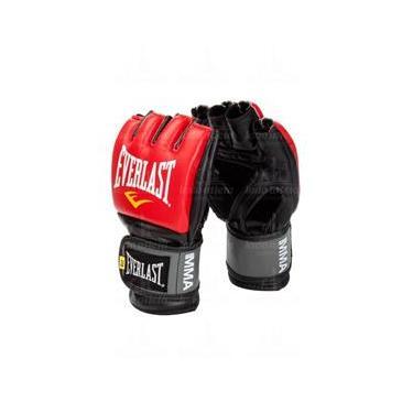 Luva MMA Pro Style (Grappling) Oficial - Everlast - VERMELHO b39755e2e6561