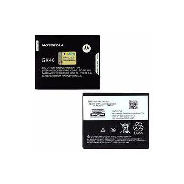 Bateria Gk40 Motorola Moto G4 Play Xt1600 Colors Xt1603 Nacional Selo Anatel