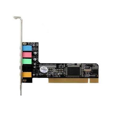 Placa de Som - 5.1 Canais - PCI