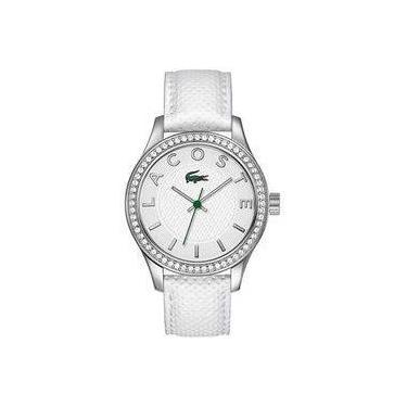 d5d1b9d94aa Relógio Feminino Lacoste Modelo 2000796 Pulseira em Couro   A prova d  água